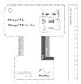 Mirage FX fitting template